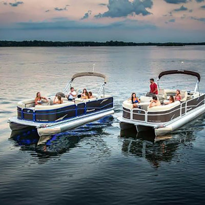 Watch White Bear Lake Fireworks from a Boat - 4th of July Pontoon Rental